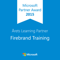 Firebrand Training Microsoft Årets Learning Partner